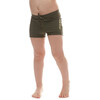 Houdini Kids Liquid Skin Shorts Needle Green